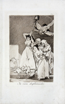 Ya Van Desplumados (There They Go Plucked), from Los Caprichos by Francisco Goya