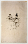 Afternoon Tea (printed by Auguste Clot for inclusion in Ambrose Vollard's L'Allbum d'estampes Originales)