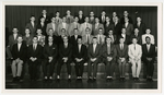 Class Photo of Sayre Hall Residents, 1959-1960