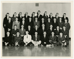 Class Photo of Sayre Hall Residents, 1961-1962