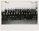 Class Photo of Sayre Hall Residents, 1962-1963