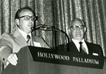 Earl Strinden and J. Lloyd Stone at the Hollywood Palladium