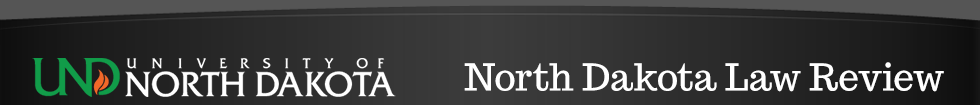 North Dakota Law Review