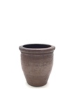 Brown Stoneware Crock No. 370 by Maker Unknown