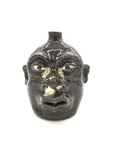 Stoneware Face Jug No. 455 by Lanier Meaders