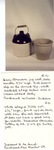 White Glazed Dutch Pot No. 91 by Maker Unknown