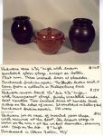 Redware Vase No. 168