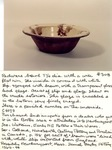 Redware Bowl No. 308