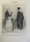 Dire pourtant que nous avons un fils qui est enfin avocat … by Honoré Daumier