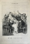187me Toast by Honoré Daumier