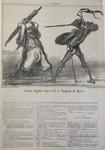 Combat singulier entre le Cid et l'Empereur du Maroc.