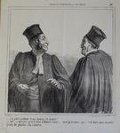 J'ai parlé pendant trois heures et demie! by Honoré Daumier