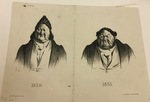 1830 et 1833 by Honoré Daumier
