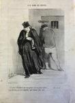 Il parait décidément que mon gaillard est un grand scélérat ...... tant mieux...... si je parviens à le faire acquitter, quel honneur pour moi!...... by Honoré Daumier
