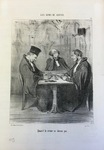 Quand le crime ne donne pas. by Honoré Daumier