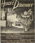Honoré Daumier Poster by Maker Unknown