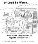 What if the DEQ decided to regulate Kootenai Falls?