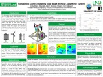 Concentric Contra-Rotating Dual Shaft Vertical Axis Wind Turbine by Emily Walz, Marcellin Zahui, Andrew Shires, and Carl Gilkeson