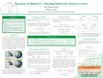 Equations of Motion in a Rotating Noninertial Reference Frame by Nicholas L. Sponsel