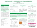 Four Derivations of Schrödinger's Time Dependent Equation