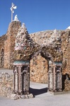 (062) Stone Archway and Calvary/Station XIII (Back View) by James Smith Pierce
