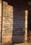 Andrew Jackson Plaque by James Smith Pierce