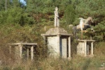 Alvin Cullums York, Veterans, Andrew Jackson and Samuel Houston Memorials by James Smith Pierce
