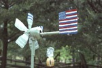 American Flag Weathervane by James Smith Pierce
