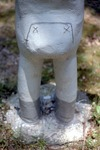 Detail of Rear of Snowsuit Statue by James Smith Pierce