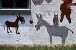Donkey on the Wall by James Smith Pierce