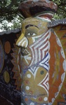 Pillar Sculpture Detail by James Smith Pierce
