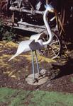 Crane Sculpture by James Smith Pierce