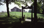 View of Archway from house, barn visible beyond road by James Smith Pierce