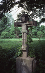 Front view of Double Sided Crucifix from the road by James Smith Pierce