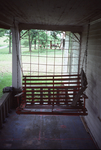 Porch Swing, WLN initials visible in background by James Smith Pierce