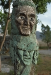 Close Up of Green Totem by James Smith Pierce