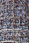 Close Up of Tower Structure by James Smith Pierce