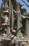 Cactus-Like Statues, View Toward Wall by James Smith Pierce
