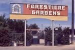 Forestiere Underground Gardens Sign by James Smith Pierce