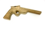 Mississippi Double Shooter Wooden Toy Gun by Artist Unknown