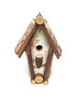 Birch Birdhouse by Maker Unknown