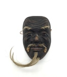Japanese Theatrical Mask by Artist Unknown