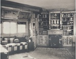 Photo Panel of Masks displayed in the study of Chester Fritz's Shanghai home by Artist Unknown