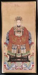 Chinese Ancestral Portrait - Woman by Artist Unknown