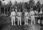 164th Infantry Color Guard on Guadalcanal, 1943
