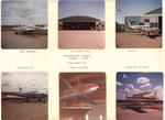 1968 Flying Club Scrapbook Frame Two by University of North Dakota