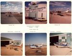 1968 Flying Club Scrapbook Frame One by University of North Dakota