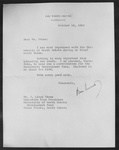 Photograph of Letter From President Kennedy to J. Lloyd Stone of the University Development Fund