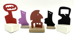 """""""Group B"""" Collection of 5 Small Maquettes by James Smith Pierce"""