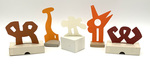 """""""Group C"""" Collection of 5 Small Maquettes by James Smith Pierce"""